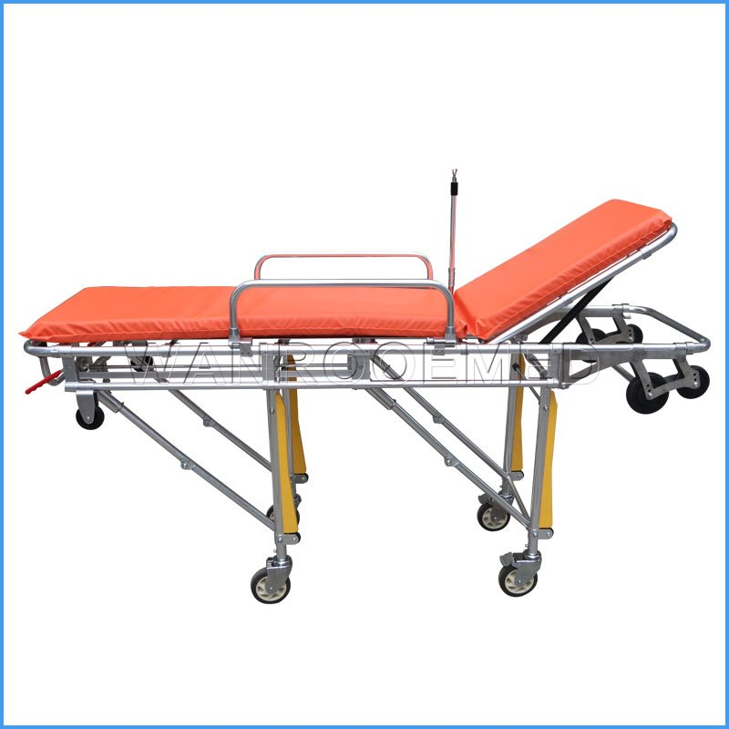 EA-3C Hot Sale Hospital Medical Folding Ambulance Transport Stretcher For Patient