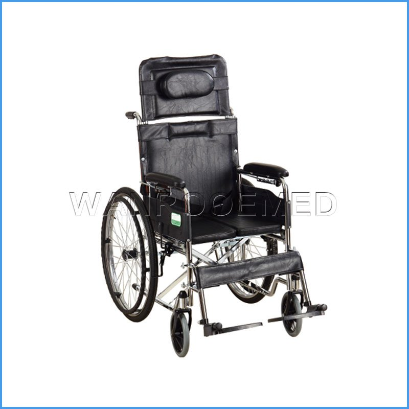 BWHM-1A7 Stainless Steel Manual Folding Wheelchair Price