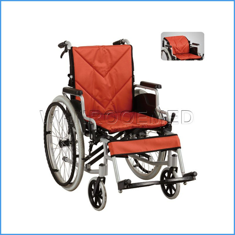 BWHM-1A26 Multifunctional Transport Manual Wheelchair with Footrest