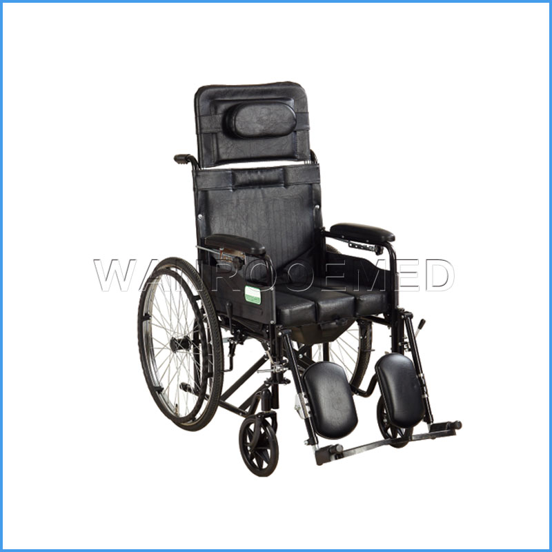 BWHM-1A8-2 Aluminum Foldable Manual WheelChair For Sale