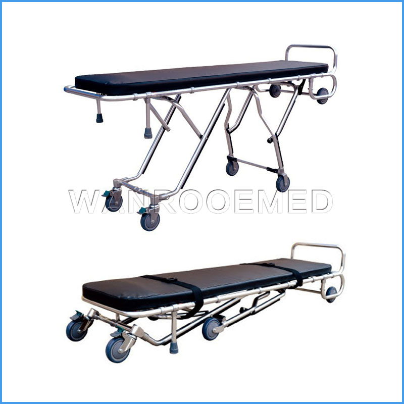 GA200E Economic Height Adjustable Mortuary Trolley Mortuary Cot Mortuary Stretcher