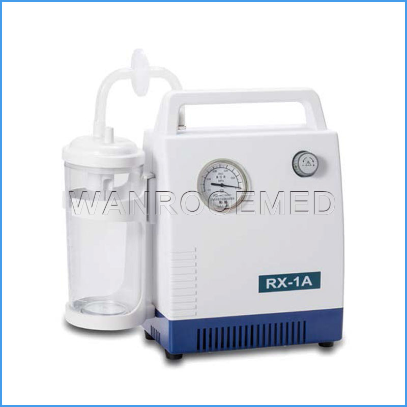 RX-1A Medical Portable Emergency Nursing Electric Children Suction Machine