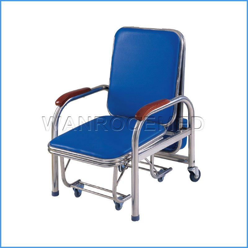 BHC001S Medical Reclining Foldaway Infusion Hospital Nursing Chair