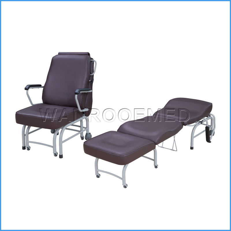 BHC001E Medical Folding Patient Sleeping Accompany Chair