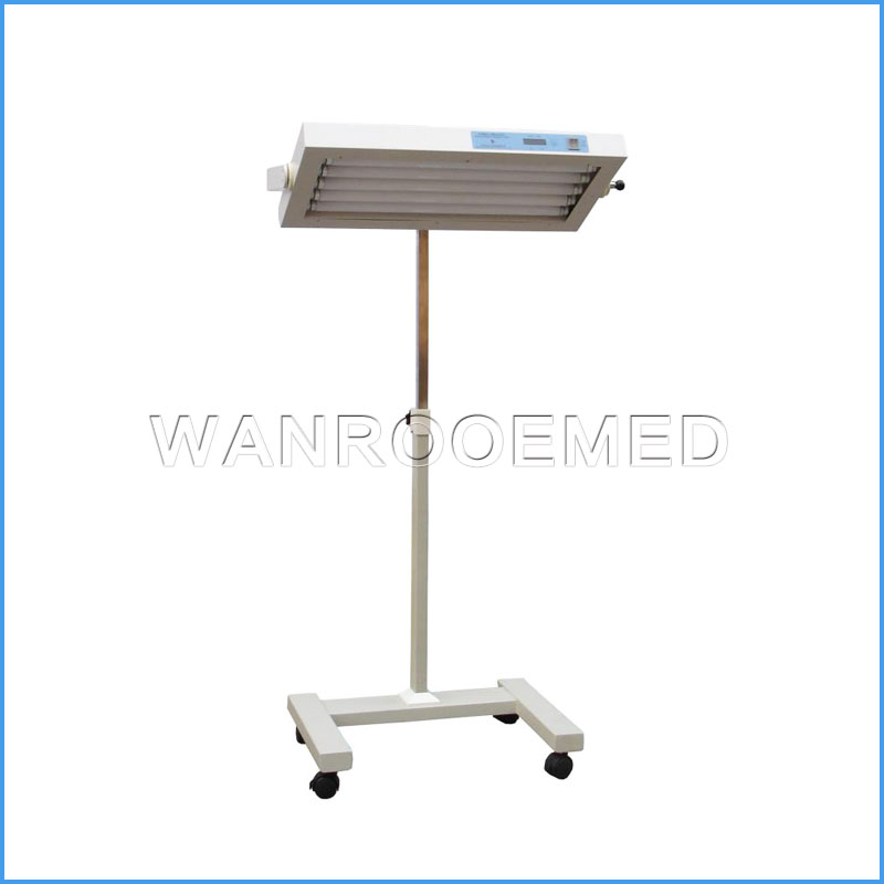 HB107 Height Adjustable Neonate Bilirubin Phototherapy Equipment Lamp