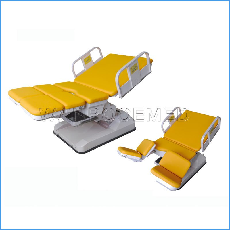 ALDR101B Electric Gynecology Obstetric Delivery Table