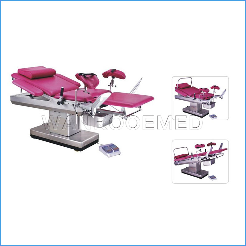 A-C102B Hospital Birthing Obstetric Electric Delivery Bed