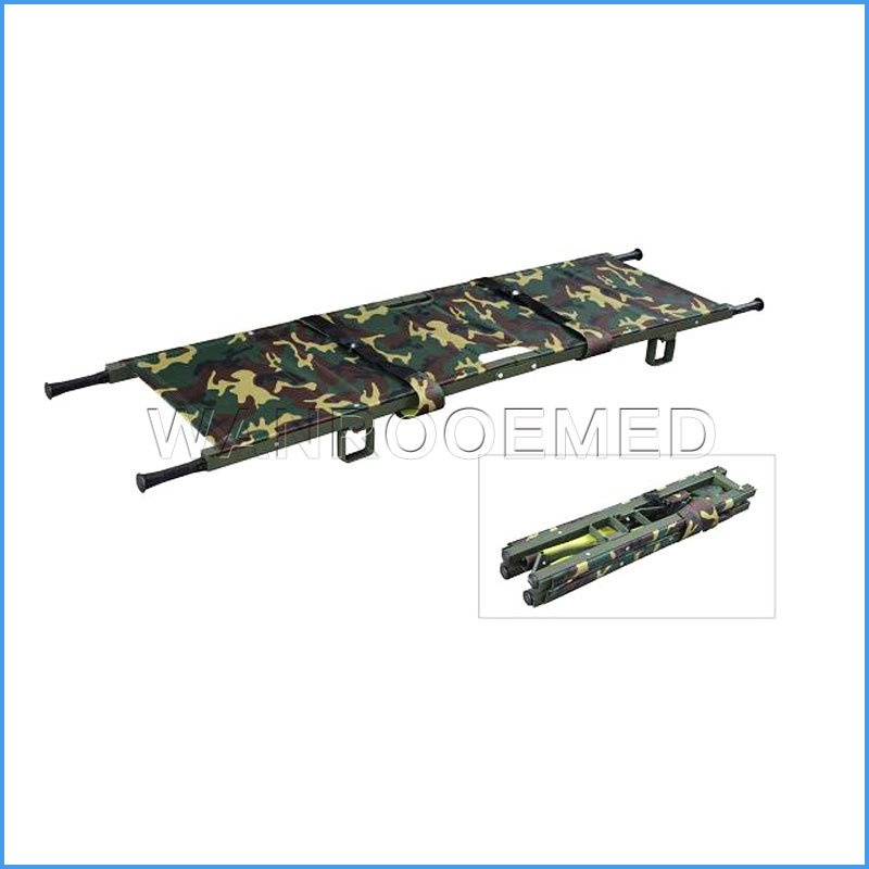 EA-1E2 Medical Folding Patient Transport Stretcher