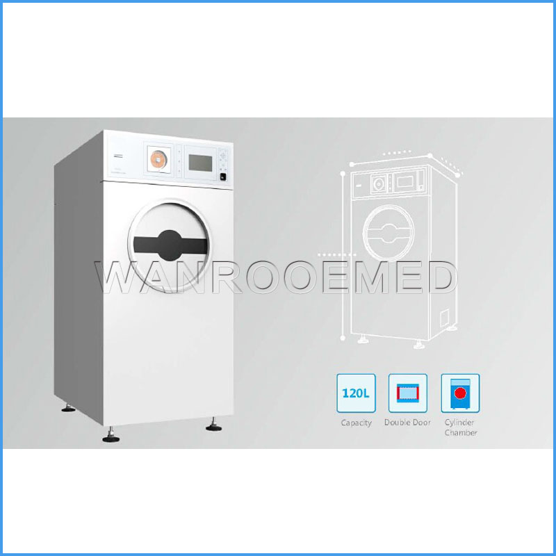 PS120D Hospital Vertical Plasma Low Temperature Sterilizer Autoclave For CSSD