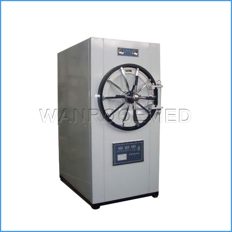 WS-YDB Horizontal Cylindrical Microcomputer Control Autoclave Machine Pressure Steam Sterilizer