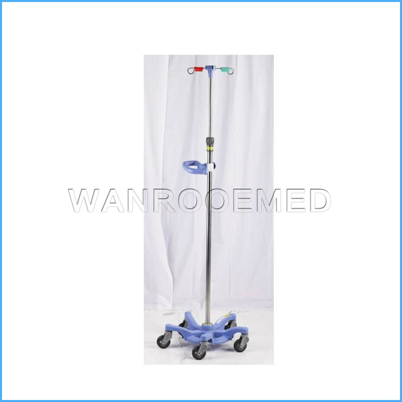 BIV03 Hospital Adjustable Drip Stand IV Pole IV Stand