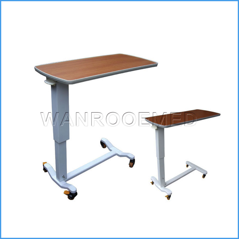 BDT001A/BDT001B/BDT001C/BDT001D /1E/1F Adjustable Patient Over Bed Table Hospital Bed Table With Drawer
