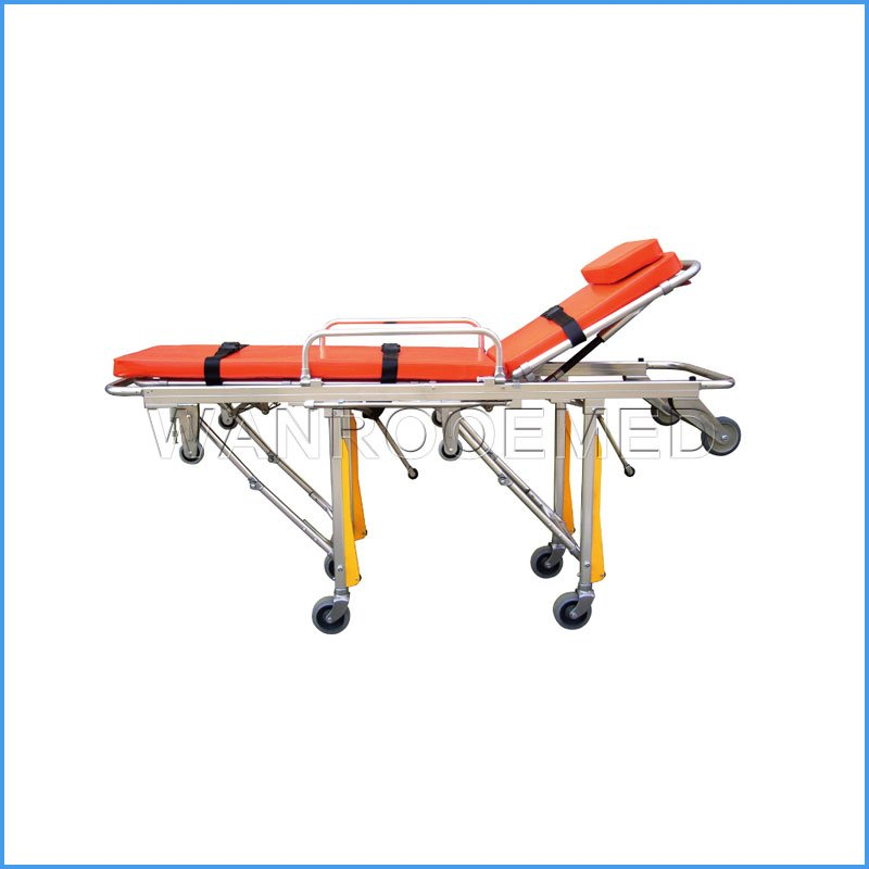 EA-3A3 Hospital Emergency Folding Ambulance Stretcher Size