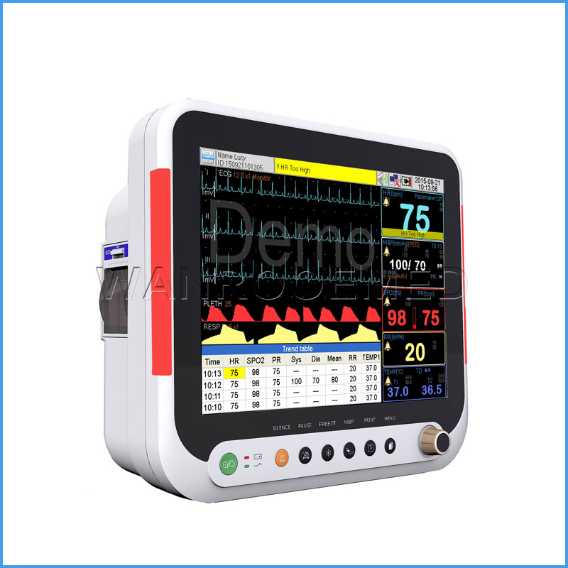 F9 15 inches Multi-parameter Medical Patient Monitor For Adult And Pediatric