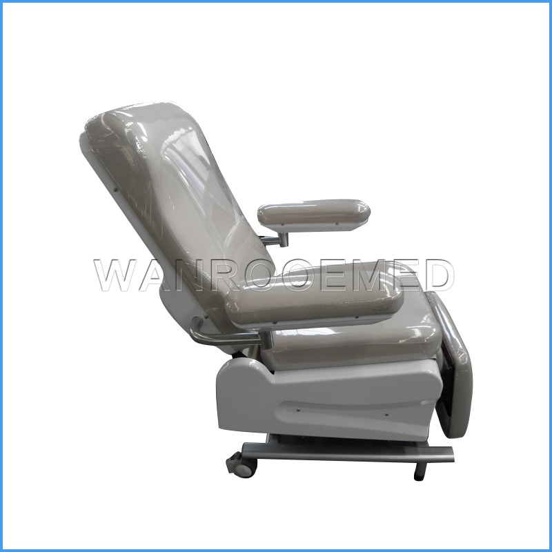 BXS100A Medical Equipment Manual Blood Collection Chair For Hemodialysis Use