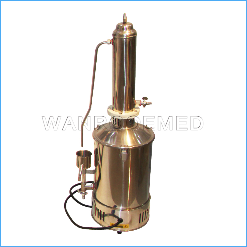 TS-5/10/20L/h Medical Lab Hospital Electric Water Distiller