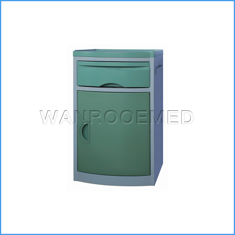 BC001/BC002 High Quality ABS Medical Bedside Cabinet Bedside Lockers Hospital Bedside Table
