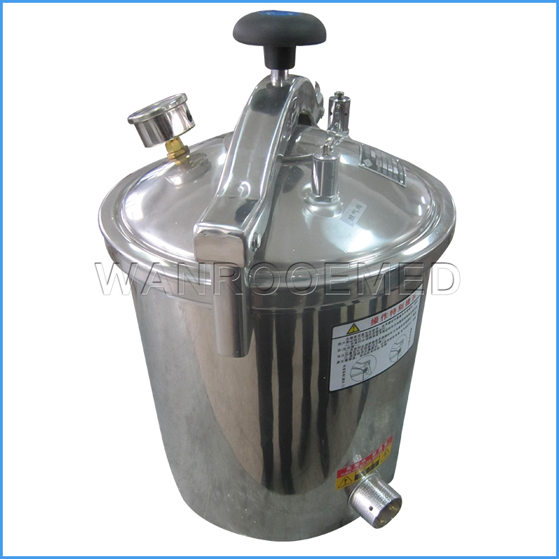YX-HDD Series Medical Equipment Portable Pressure Steam Sterilizer Stainless Steel Autoclave