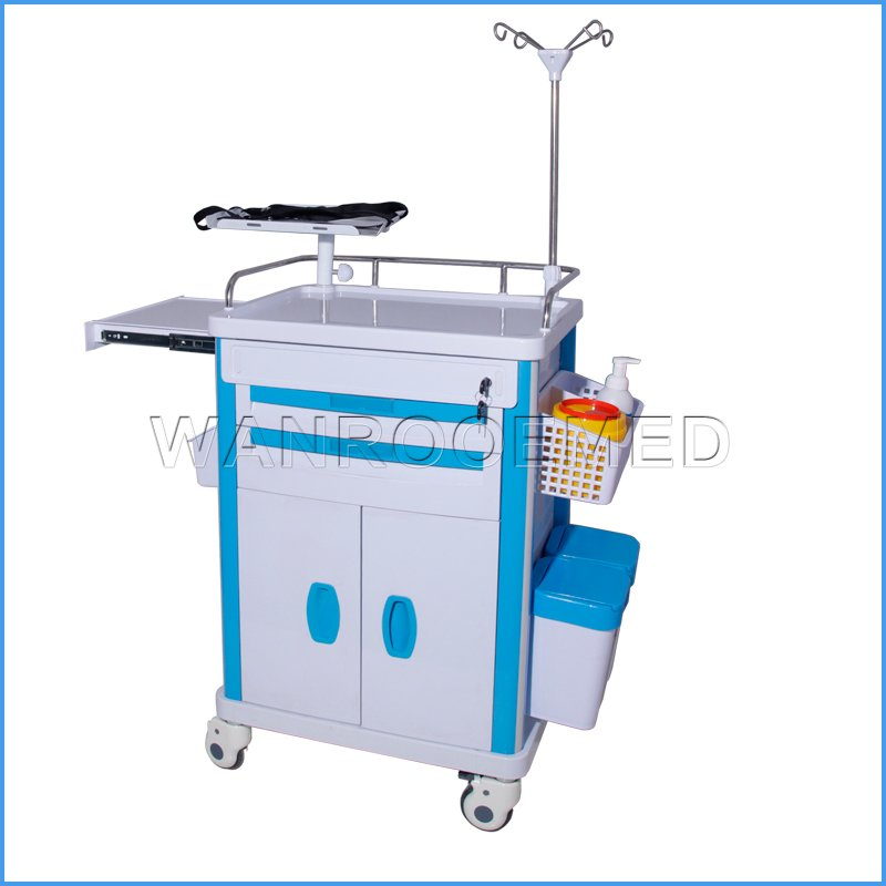 BET-72 Series Hospital Medical Surgery Patient Cart Emergency Trolley