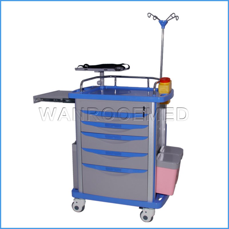 BET-01 Series Hospital Medical Surgery Patient Cart Emergency Trolley