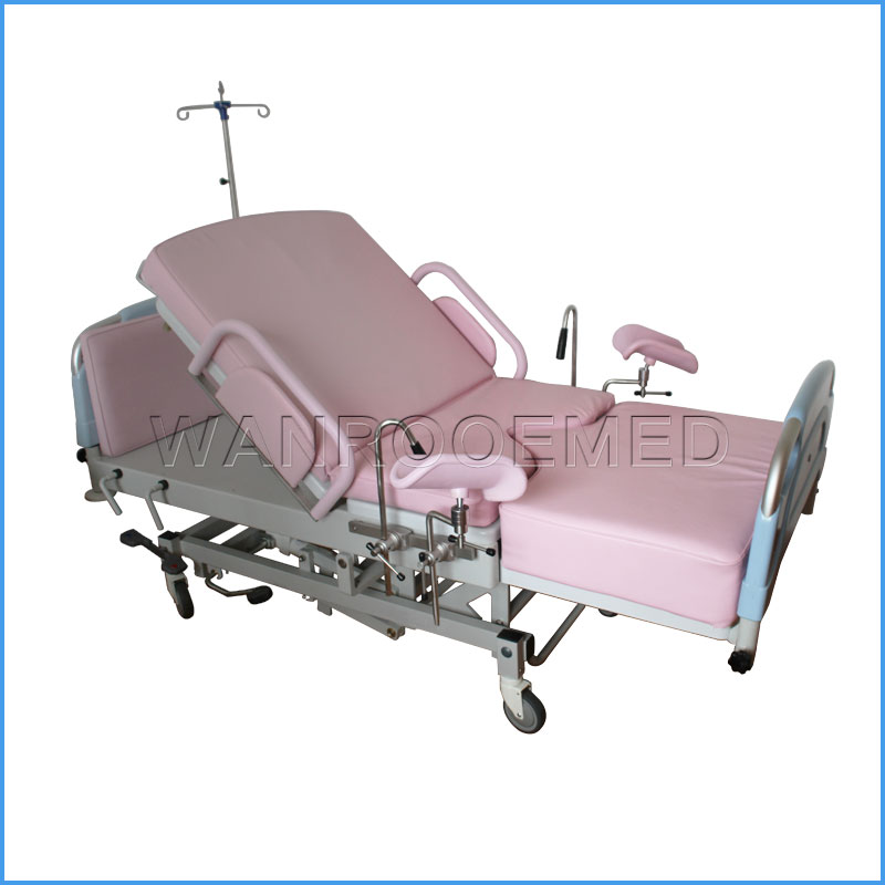 ALDR100BM Adjustable Hospital Obstetric Table Delivery Bed