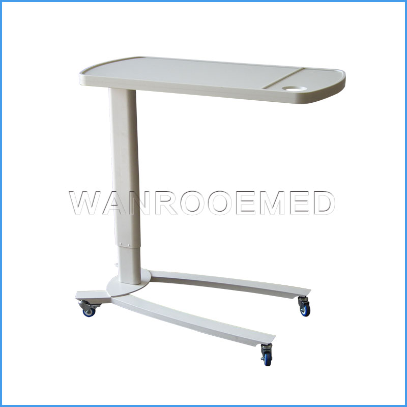 BDT002C ABS Material Table Board Adjustable Hospital Bed Dining Table
