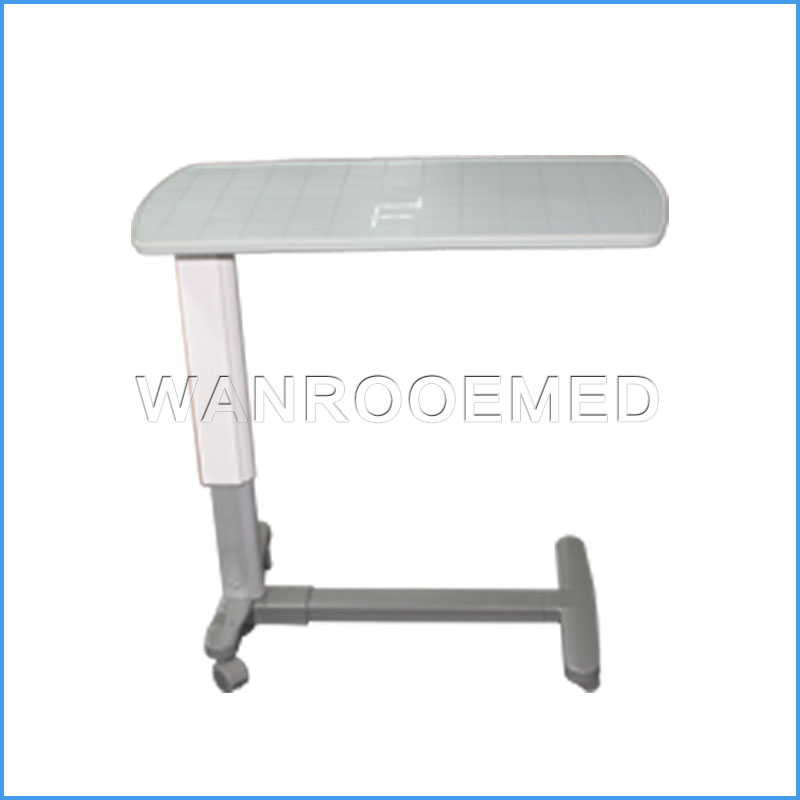 BDT002A Adjustable Hospital Medical Overbed Table Bedside Table