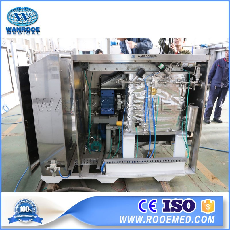 China 80 Liter Medical Waste Shredding Dental Autoclave Steam Sterilizer Dentaire Class B