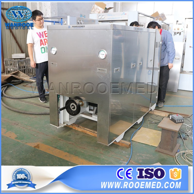 Medical Surgical Dental Waste Shredding Carbon Fiber Autoclave Class B Steam Sterilizer