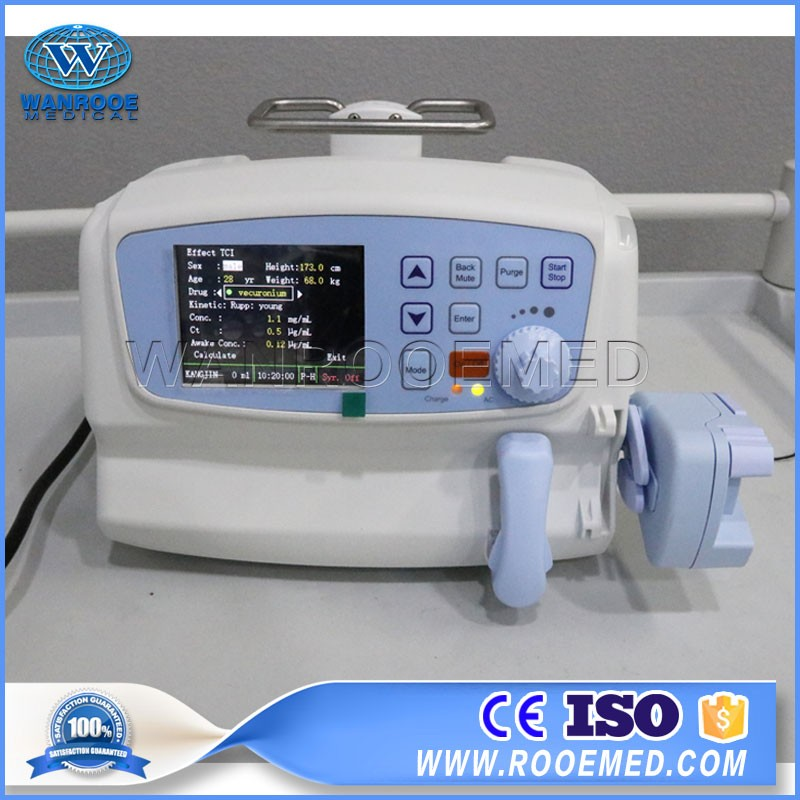 WRSP-605T Hospital Equipment Portable Single Channel Peristaltic Syringe Pump Price