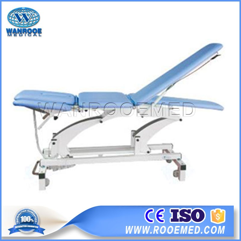 DE-6B Hospital Multi-position Electric Adjustable Massage Treatment Bed