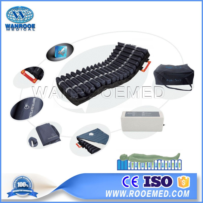 APP-T04 Medical Alternating Pressure Tubular Air Mattress With Pump For Hospital