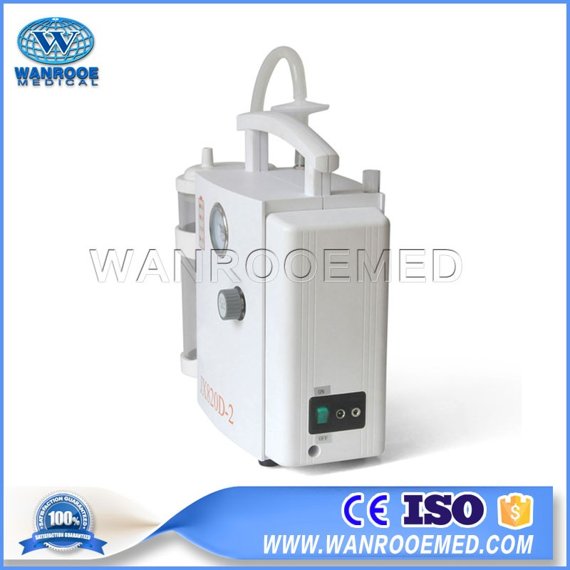 JX820D-2 Hospital Ambulance Light Weight AC DC Emergency Suction Machine Portable Electric Aspirator
