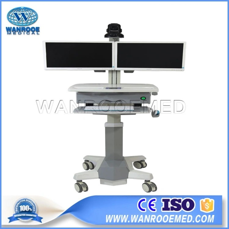 China BWT-006 Telemedicine Cart Help Diagnose Novel Coronavirus Effectively