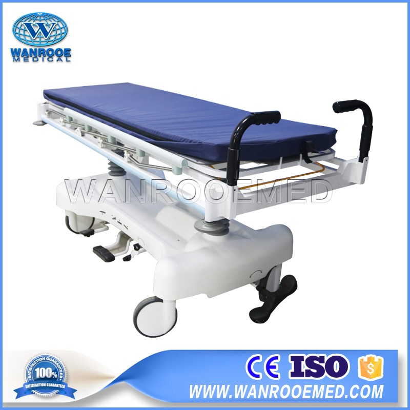 China Anti-coronavirus Equipment BD111B Hydraulic Ambulance Transport Patient Trolley