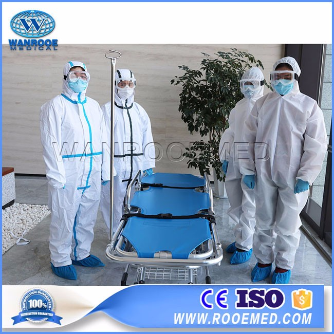 EA-17  Disposable Antiviral Medical Coronavirus Protection Coverall Protective Clothing Suit
