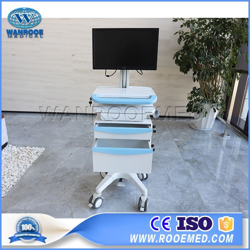 BWT-001N Medical Intelligent Mobile All-in-one Computer Workstation Trolley Cart