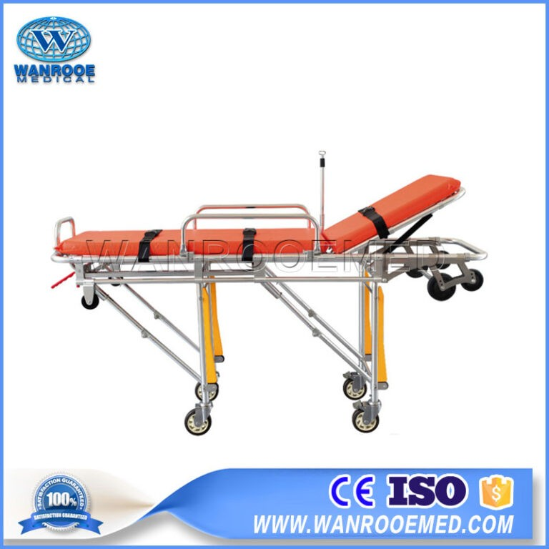 EA-3C Hospital Medical Folding Ambulance Transport Stretcher For Patient