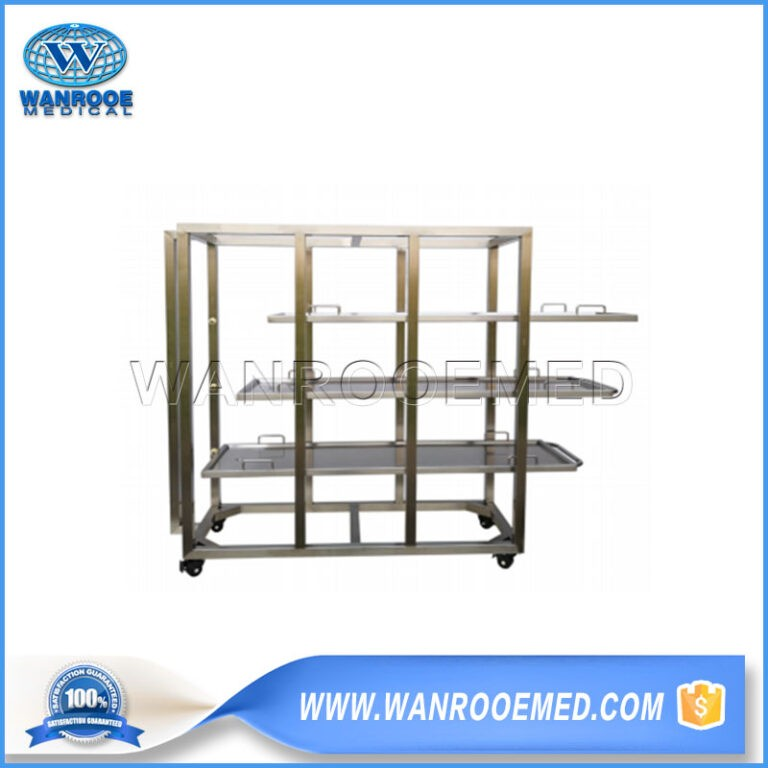 GA503S Funeral Stainless Steel Body Storage Rack