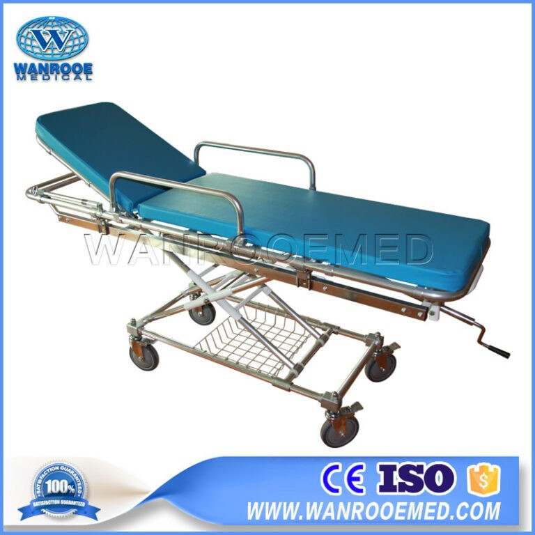 EA-4A/4B Medical Emergency Stainless Steel Ambulance Stretcher
