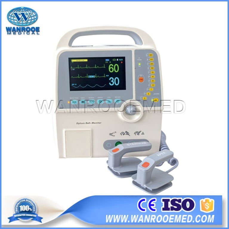 DEFI-8000D Medical Biphasic Defibrillator Monitor AED Defibrillator