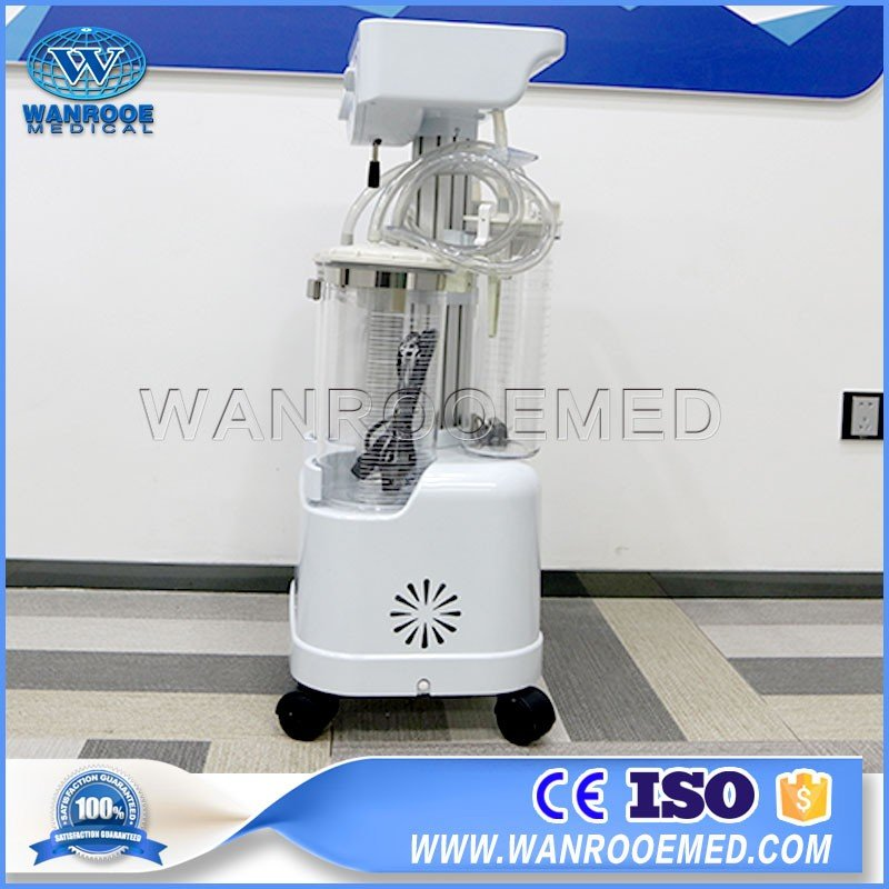 YX980D Surgical Mobile Medical Hospital Electric Suction Machine Suction Apparatus