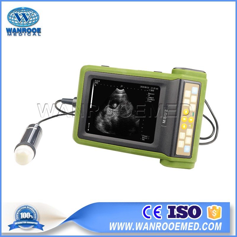 USMSU2 Full Digital Portable Mechanical Veterinary Ultrasound Scanner