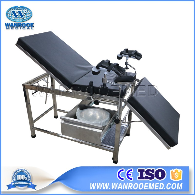 A-2005C Portable Medical Operation Table Electric Gynecology Examination Chair Bed