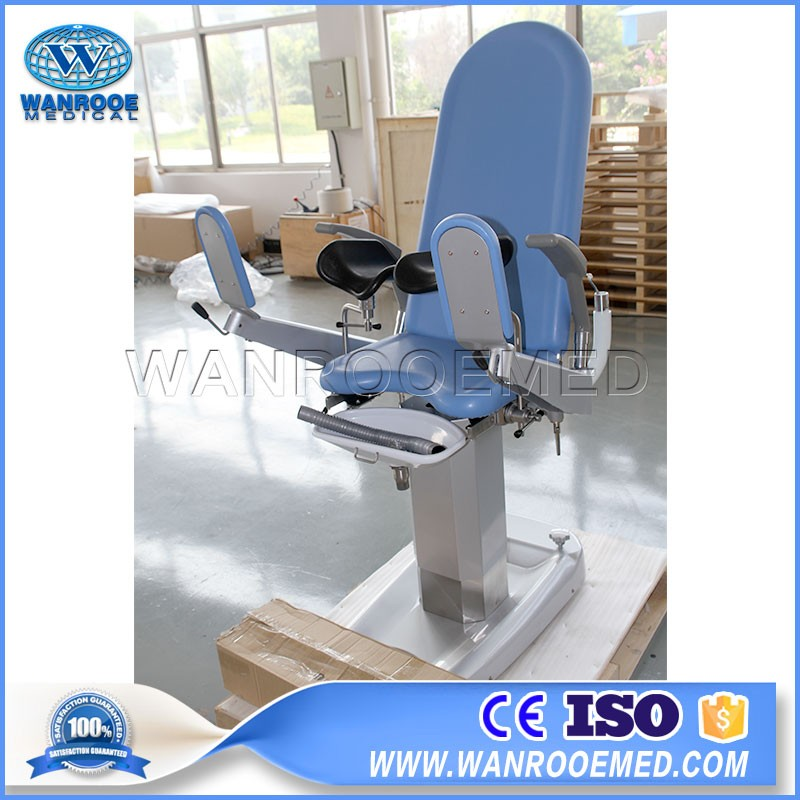 A-S102A Adjustable Hospital Electric Obstetric Chair Examination Table Gynecological Chair