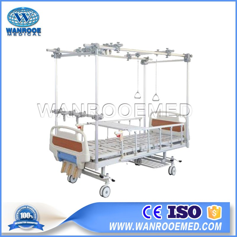 BAM304G Hospital Manual Orthopedic Traction Hospital Bed For Paralyzed Patients