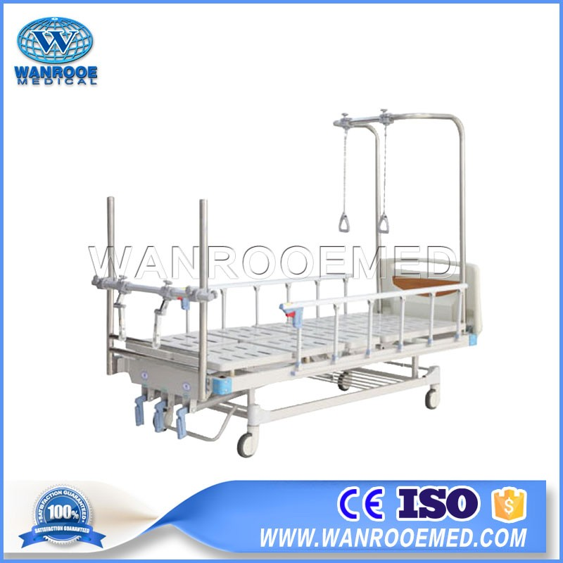 BAM303G Hospital Double Arm  Treatment Traction Orthopedic Bed