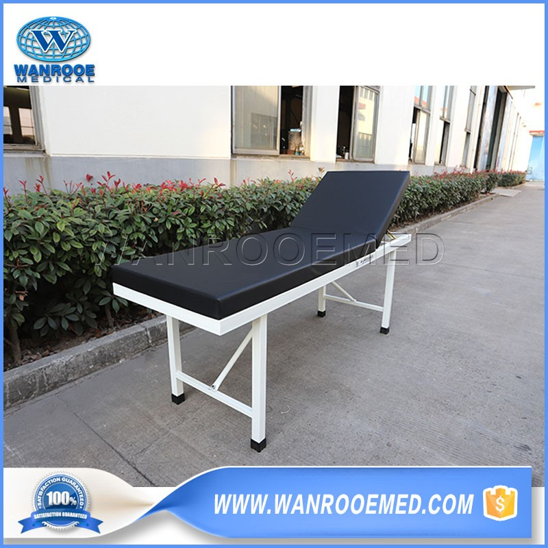 BEC04 Hospital 2 Sections Examination Table Medical Steel Examination Couch