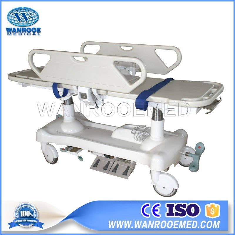 BD111AA Hospital Emergency Electric Transport Stretcher Patient Transfer Cart
