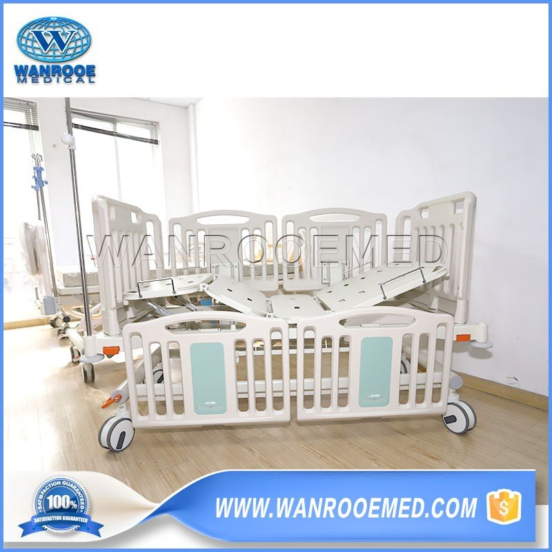 BAM202C Hospital Secure Children Bed Manual Two Functions Child Bed